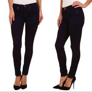 Henry & Belle Super Skinny Ankle Jeans Dark Wash